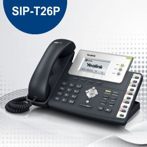 YEALINK SIP T26P IP PHONE DUBAI - YEALINK  PHONES DUBAI